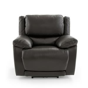 Casual Electric Recliner with Power Headrest