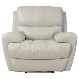 Contemporary Electric Motion Recliner with Power Headrest