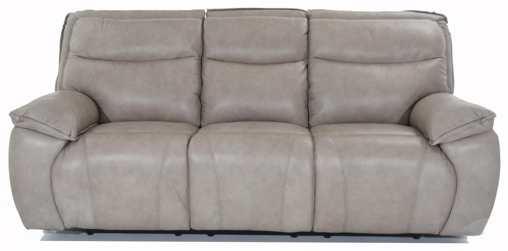 E1578 Power Headrest Reclining Sofa by Futura Leather at Baer's Furniture