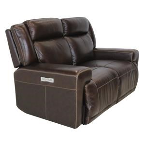 Powered Loveseat with Powered Headrest