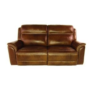 Top Stitched Motion Sofa with Power Headrest