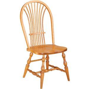 Gat Creek Dining Windsor Wheat Side Chair