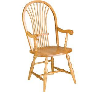 Gat Creek Dining Windsor Wheat Arm Chair
