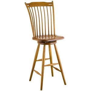 Gat Creek Dining Rod Back Bar Chair