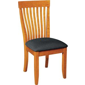 Gat Creek Dining Monterey Side Chair with Upholstered Seat