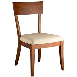 Gat Creek Dining Bella Side Chair with Upholstered Seat