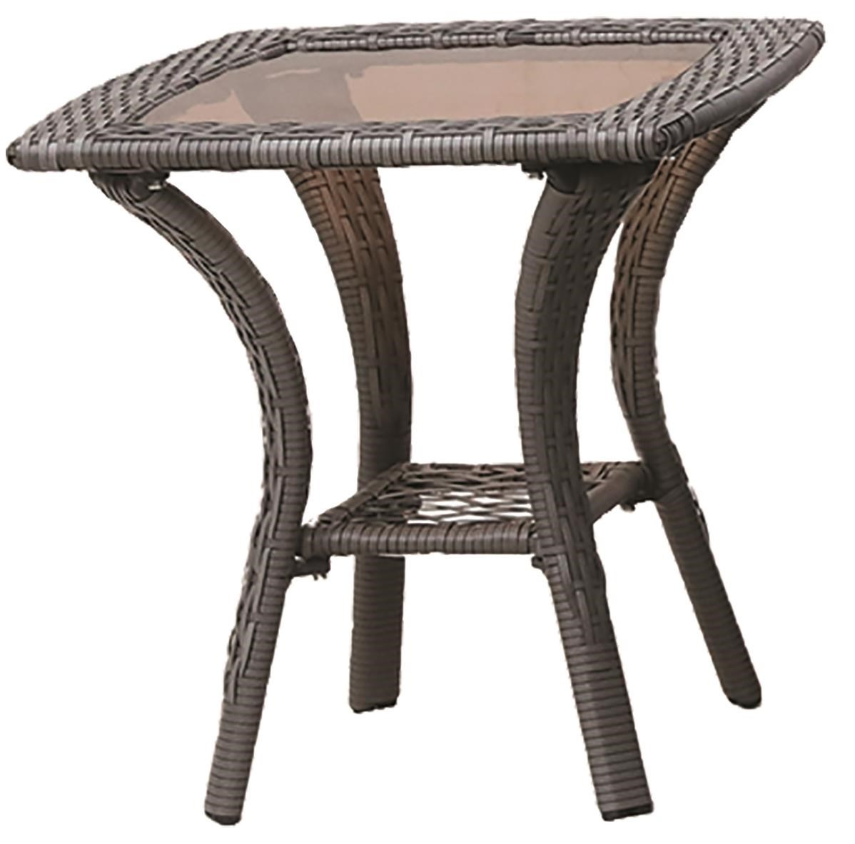 Essen Outdoor End Table by GatherCraft at Darvin Furniture