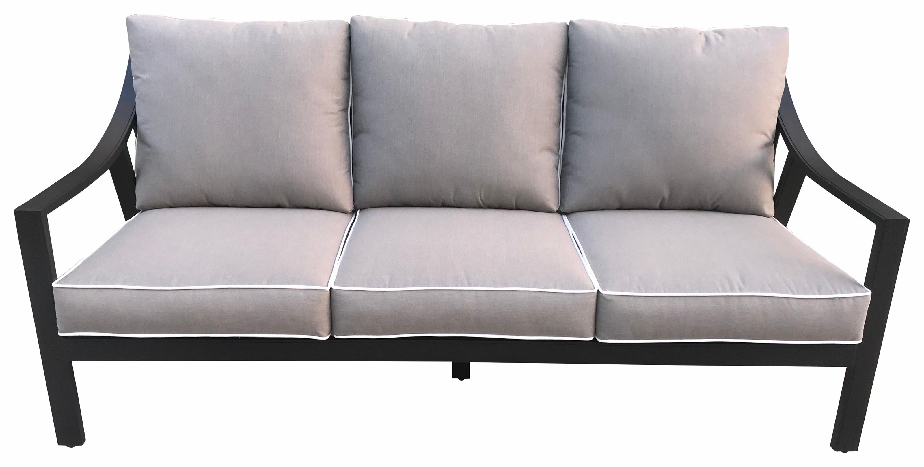 Genoa Outdoor Sofa by GatherCraft at Darvin Furniture