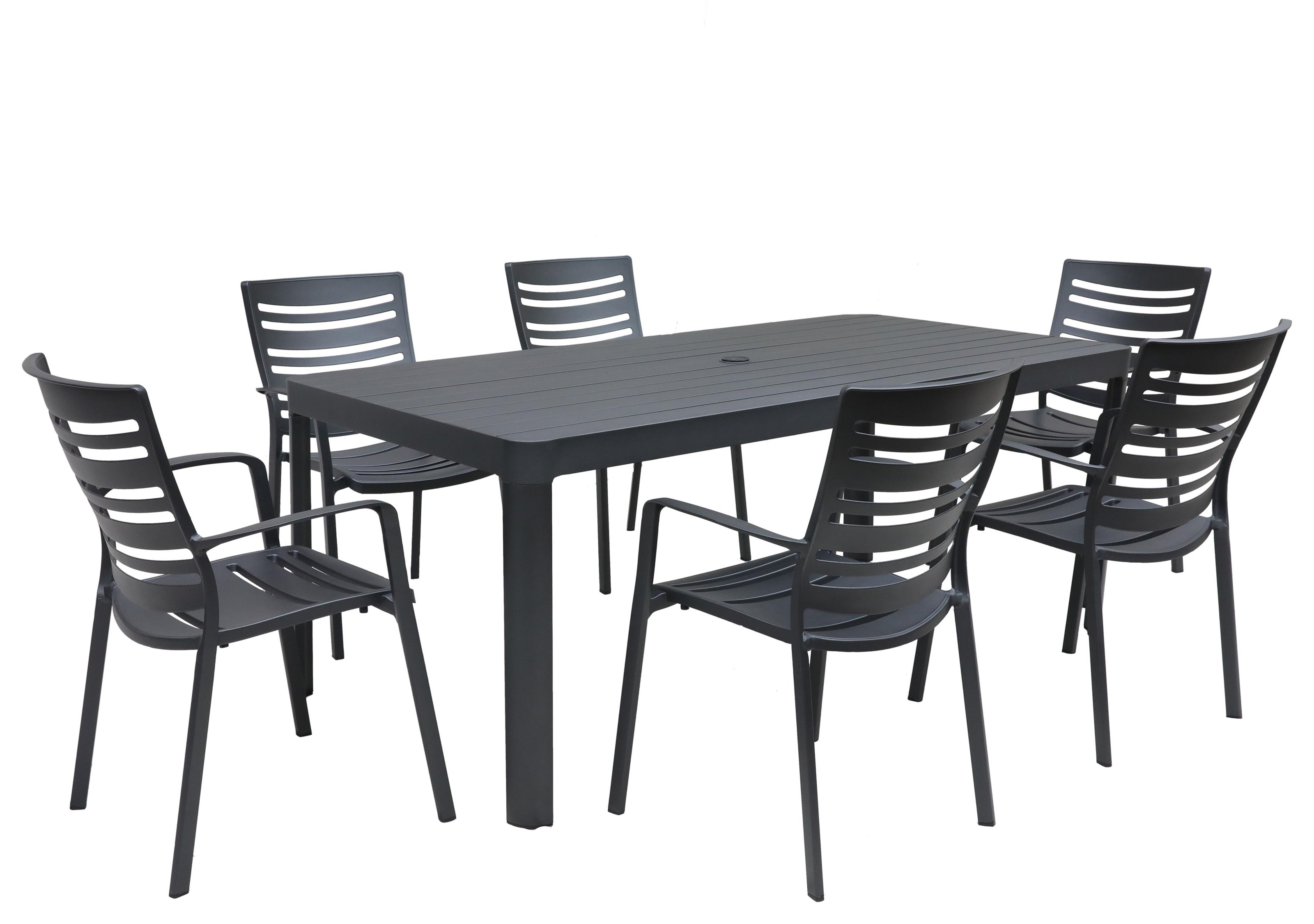 IKAST 7 Piece Outdoor Dining Set by GatherCraft at Darvin Furniture