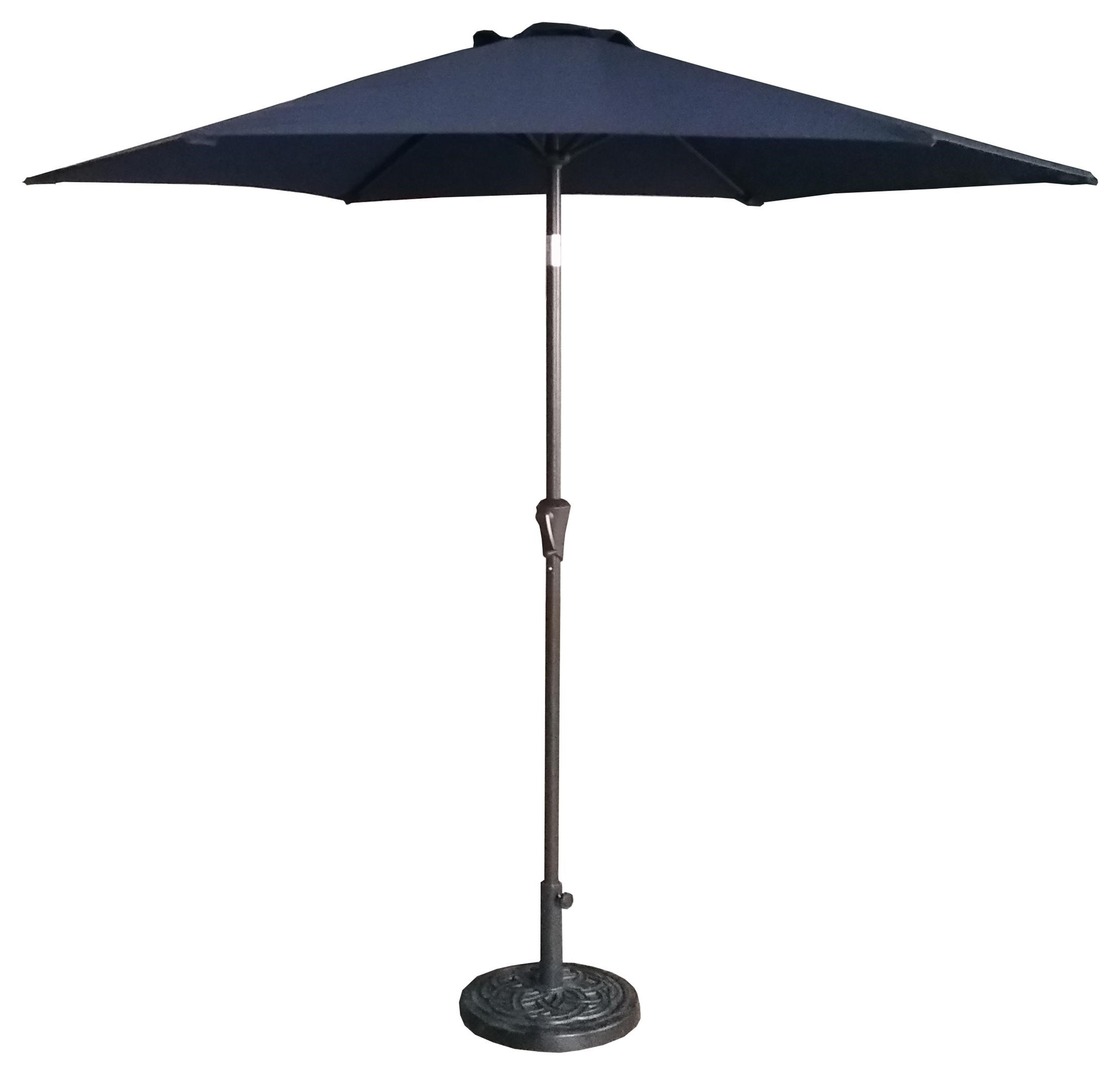 UMBRELLA 9'  Navy Blue Umbrella by GatherCraft at Darvin Furniture