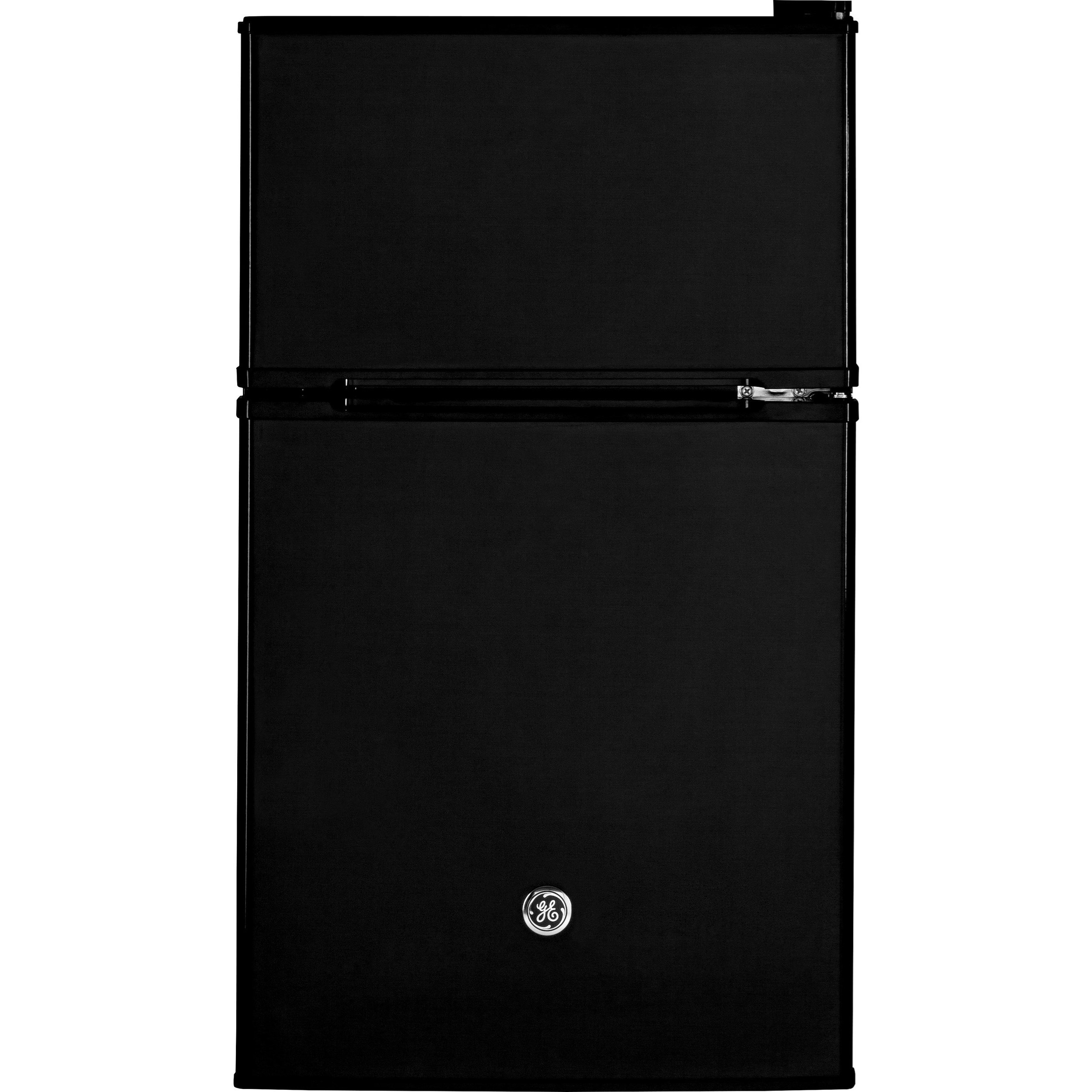 Compact Refrigerators GE® Double-Door Compact Refrigerator by GE Appliances at Furniture and ApplianceMart