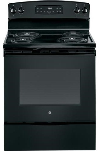 """Electric Range 30"""" Free Standing Coil Top Range by GE Appliances at Furniture Fair - North Carolina"""