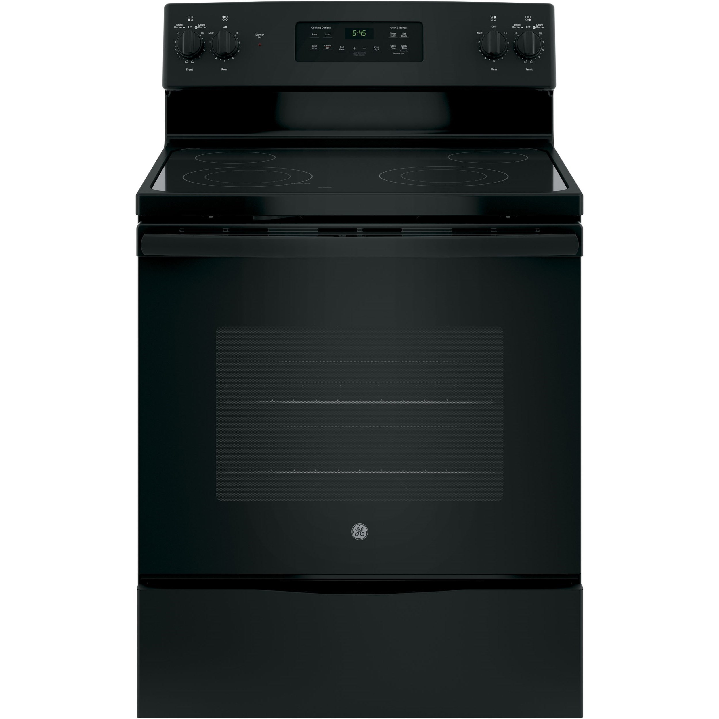 """GE Electric Ranges 30"""" Free-Standing Electric Range by GE Appliances at Furniture and ApplianceMart"""