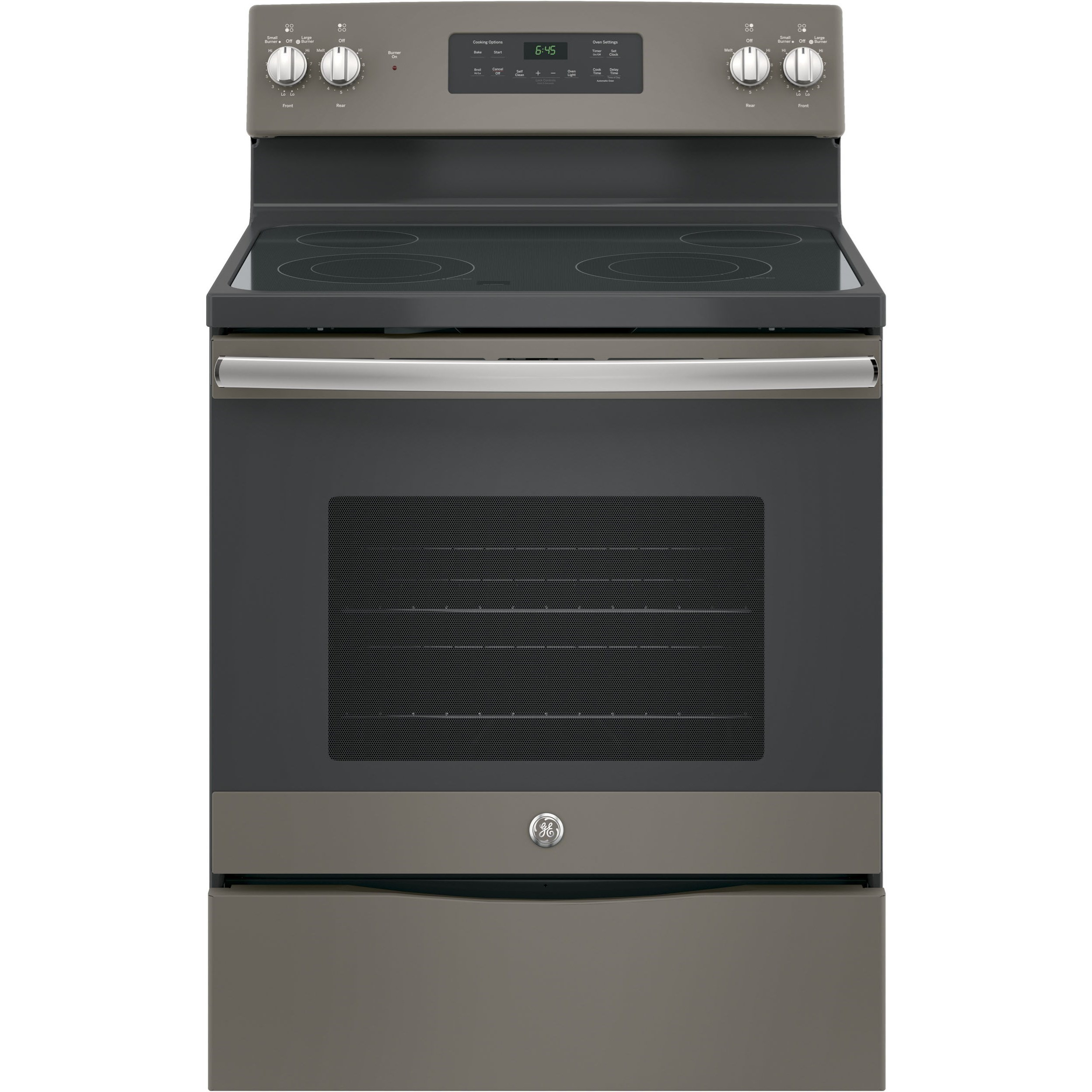 """GE Electric Ranges 30"""" Free-Standing Electric Range by GE Appliances at VanDrie Home Furnishings"""