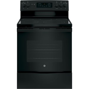 "GE® 30"" Free-Standing Convection Electric Range with Expandable Elements"