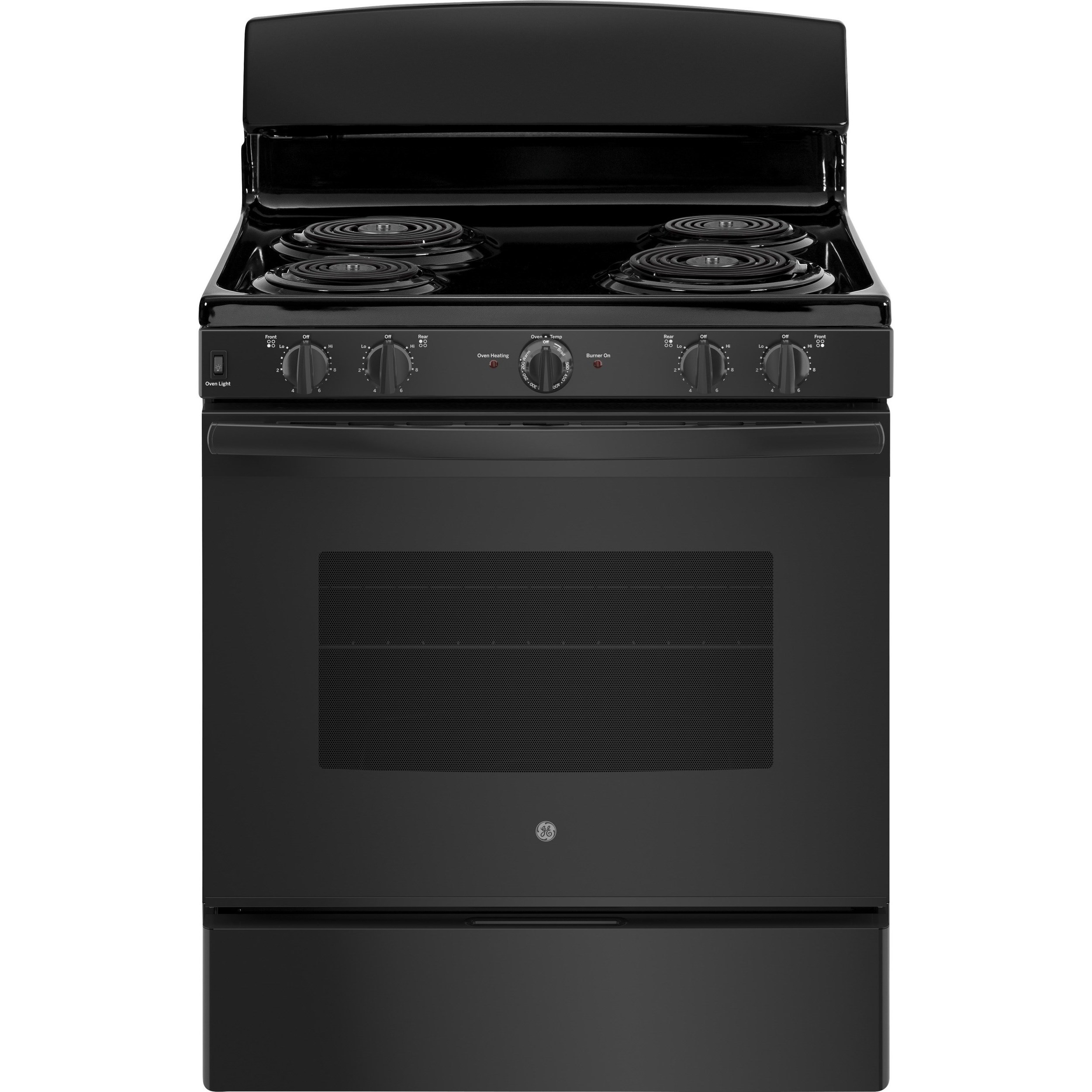 "GE Electric Ranges 30"" Free-Standing Electric Range by GE Appliances at VanDrie Home Furnishings"