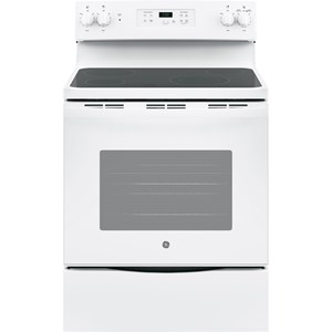 "30"" Free-Standing Electric Range with 9""/6"" Power Boil Element"