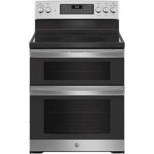 """30"""" Free-Standing Electric Double Oven Range"""