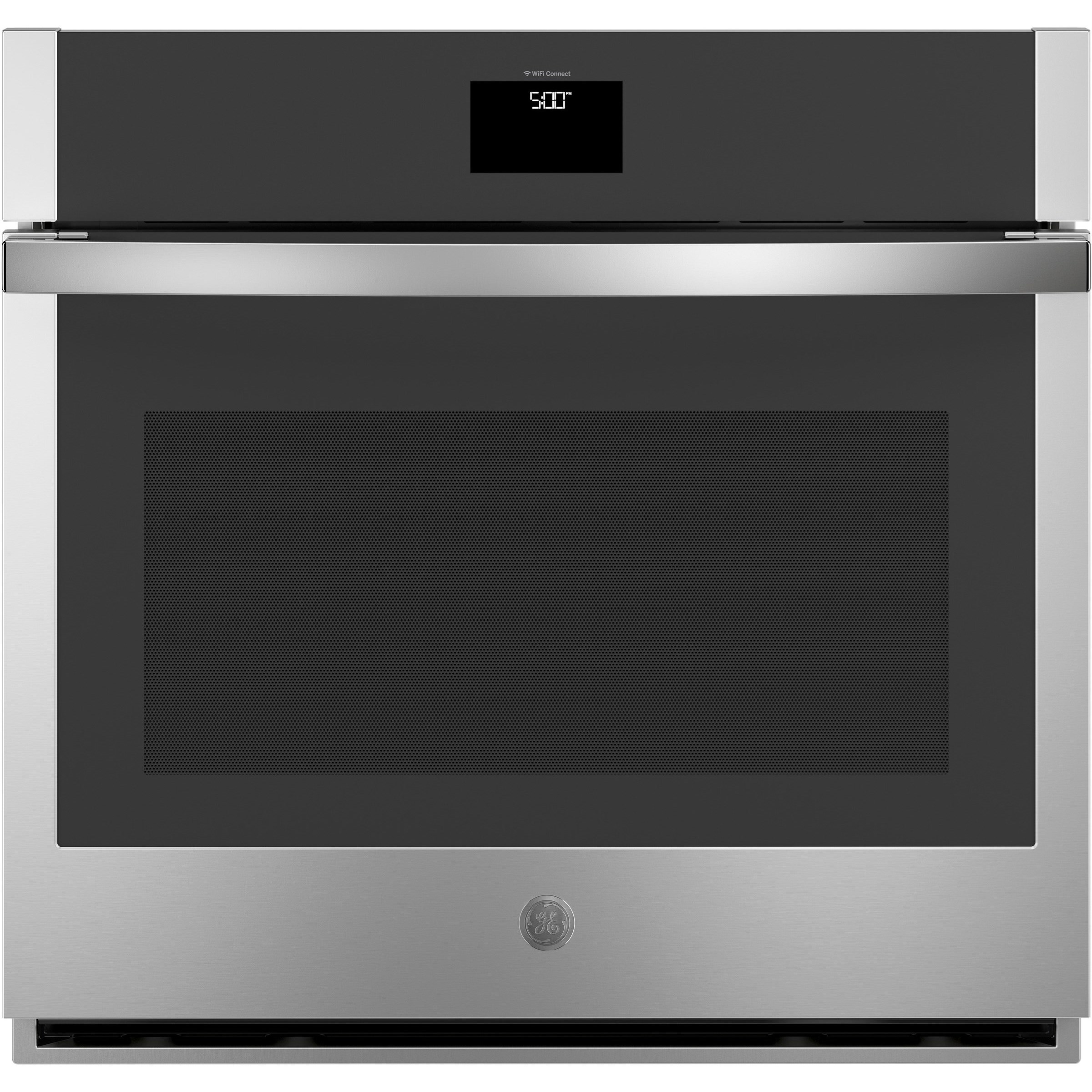 """Electric Wall Oven 5 Cu. Ft. 30"""" Smart Built-In Convection Oven by GE Appliances at Furniture and ApplianceMart"""