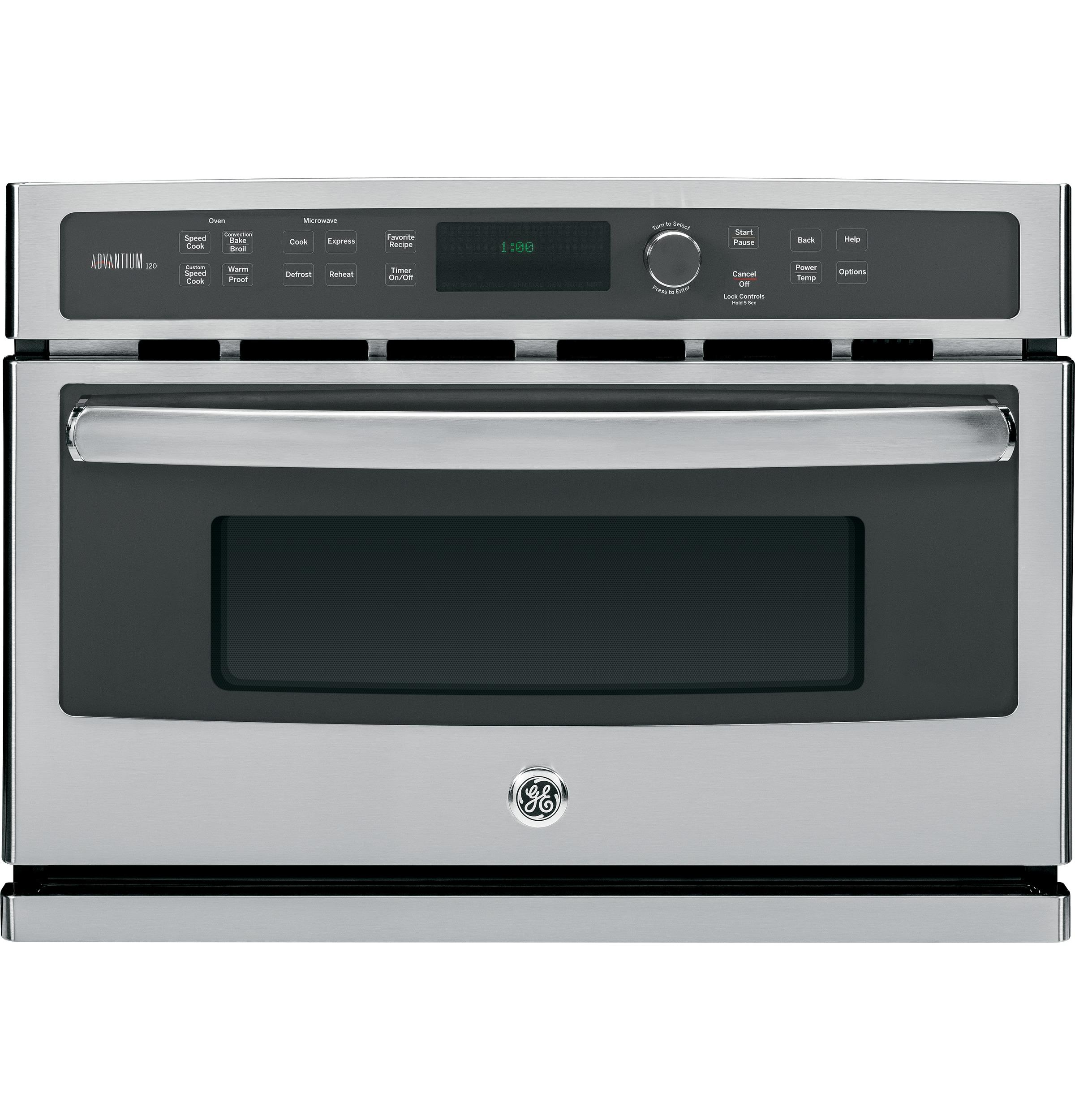 Electric Wall Oven 27 in. Electric Wall Oven by GE Appliances at Furniture and ApplianceMart