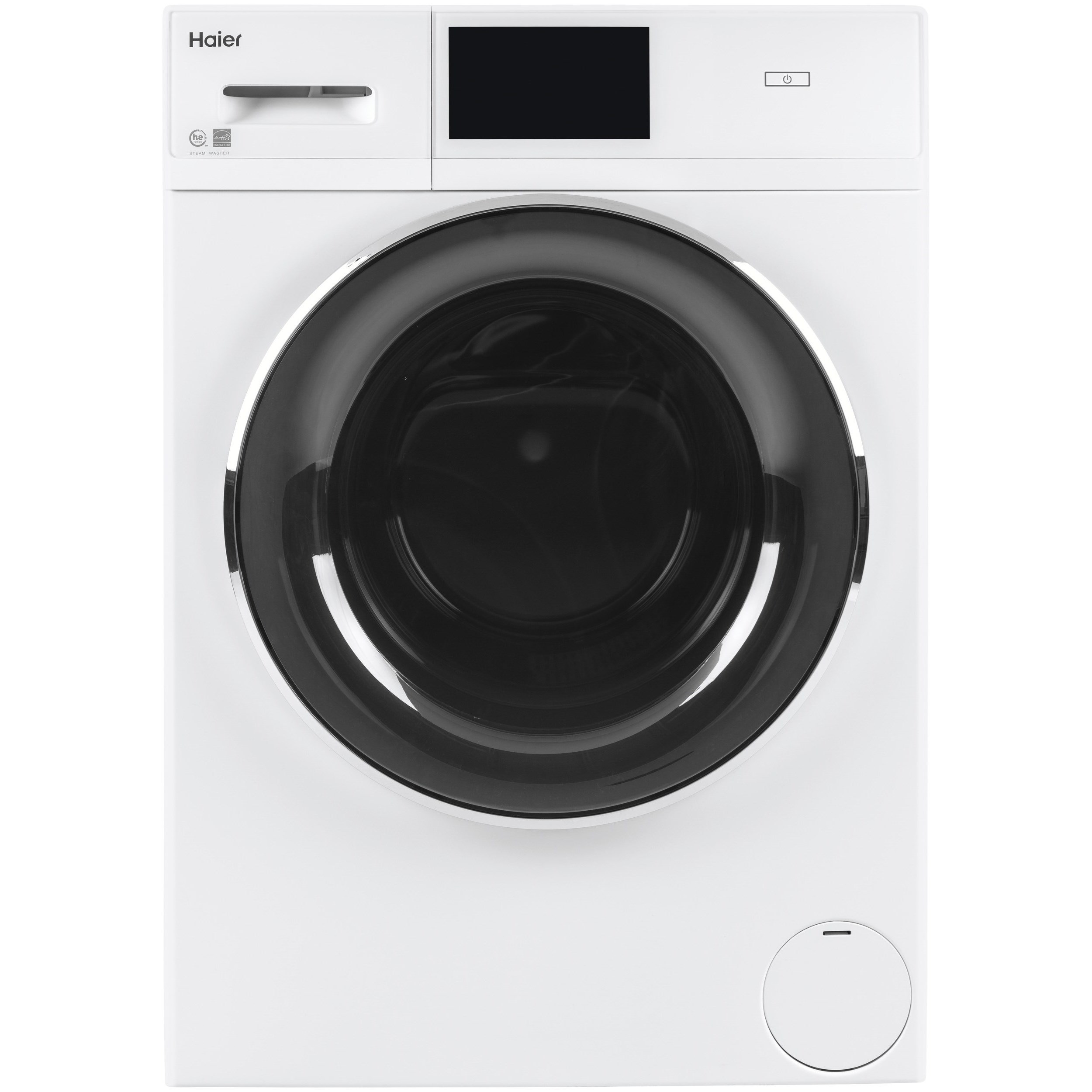 Front Load Washers - GE 2.4 Cu. Ft. Smart Frontload Washer by GE Appliances at Furniture and ApplianceMart