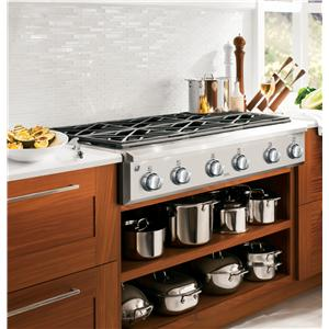 """GE Appliances Gas Cooktops Cafe Series 36"""" Gas Cooktop"""