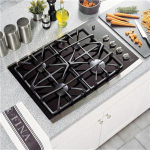 """GE Appliances Gas Cooktops 30"""" Built-In Gas Cooktop"""