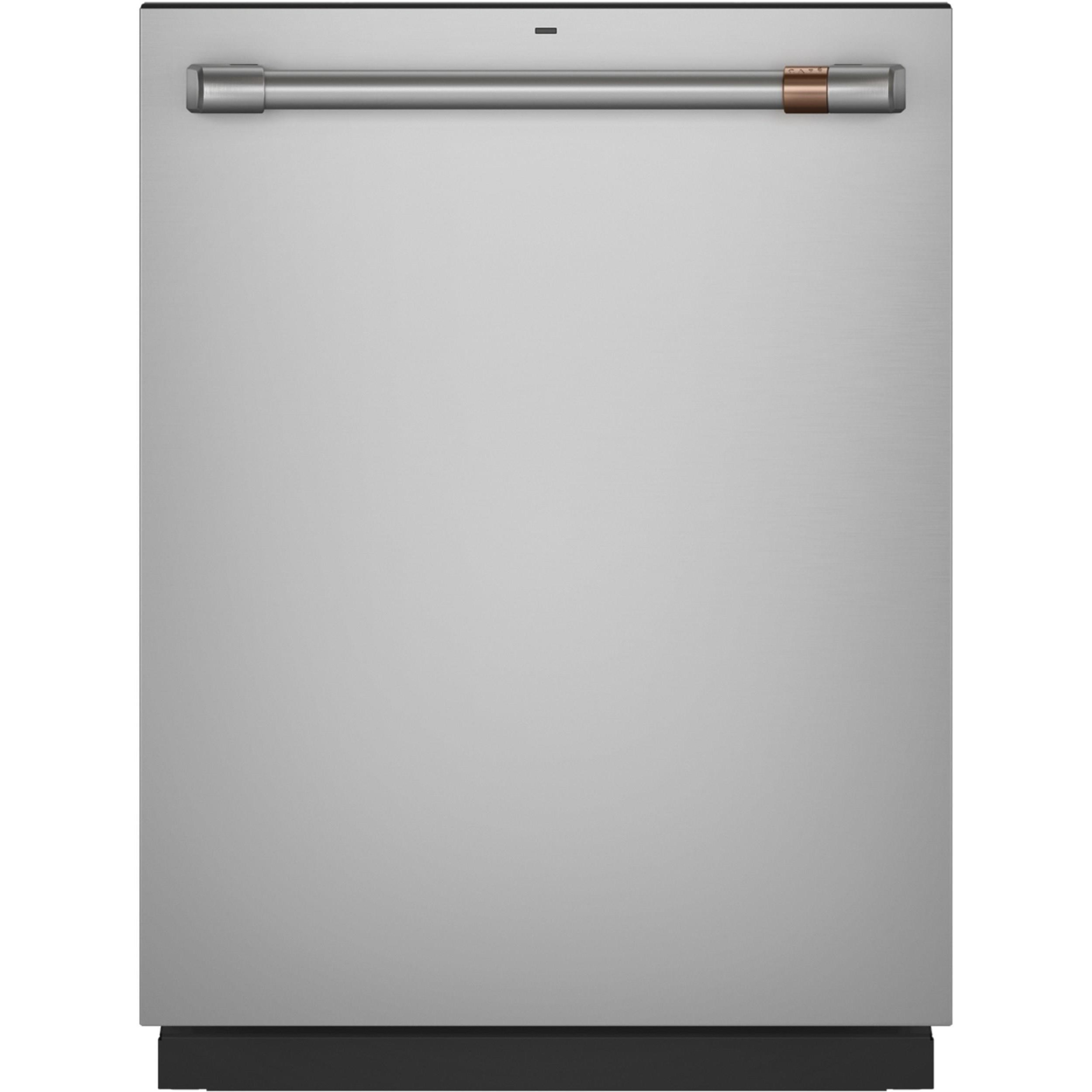 GE Cafe Dishwashers Cafe´™ Stainless Steel Interior Dishwasher by GE Appliances at Furniture and ApplianceMart
