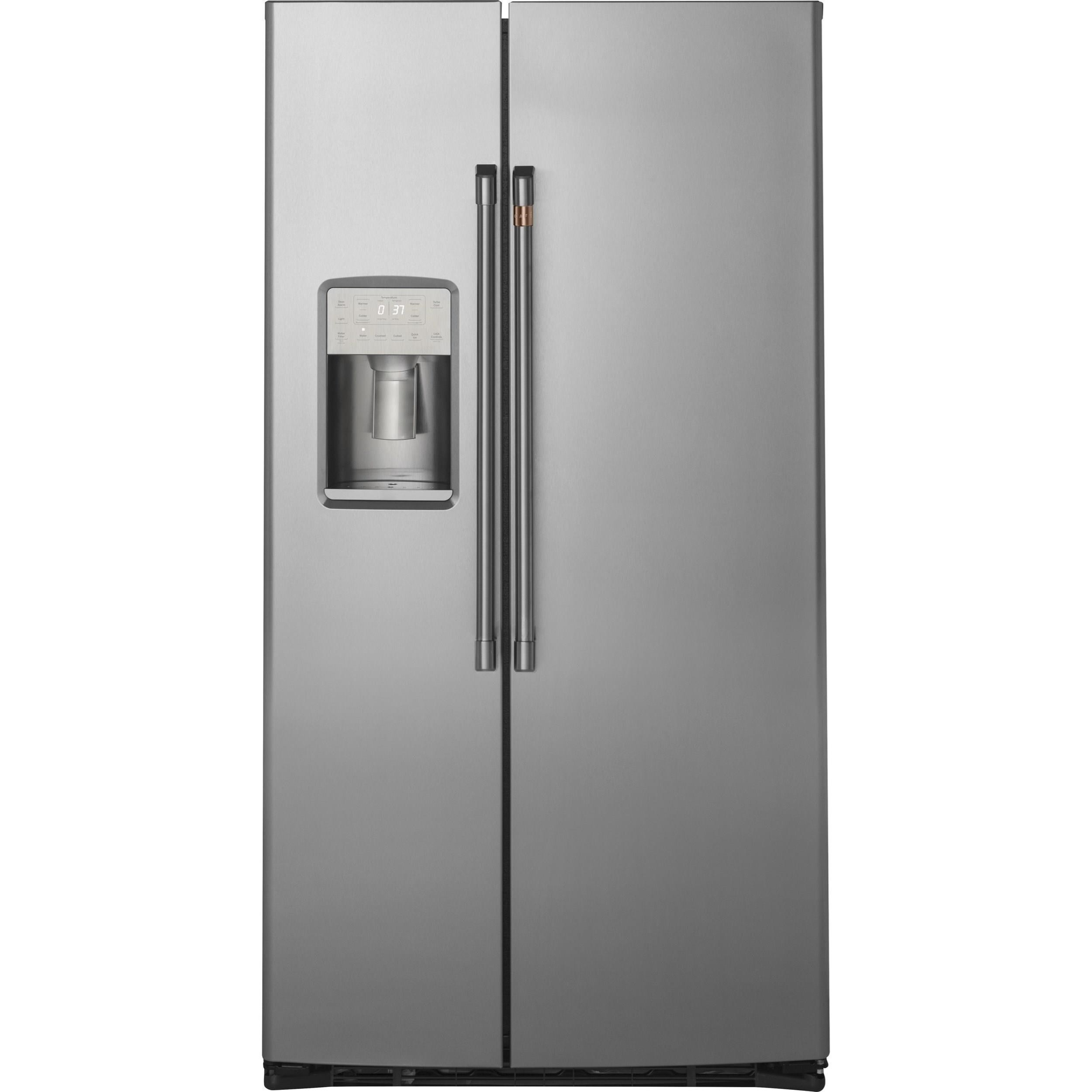 GE Cafe Side-By-Side Refrigerators Cafe´™ 21.9 Cu. Ft. Refrigerator by GE Appliances at Furniture and ApplianceMart