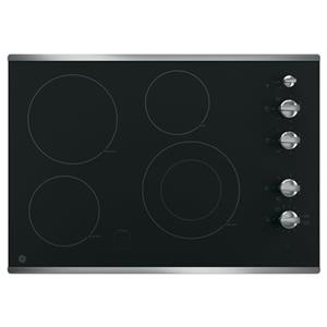 "30"" Built-In Knob Control Electric Cooktop"