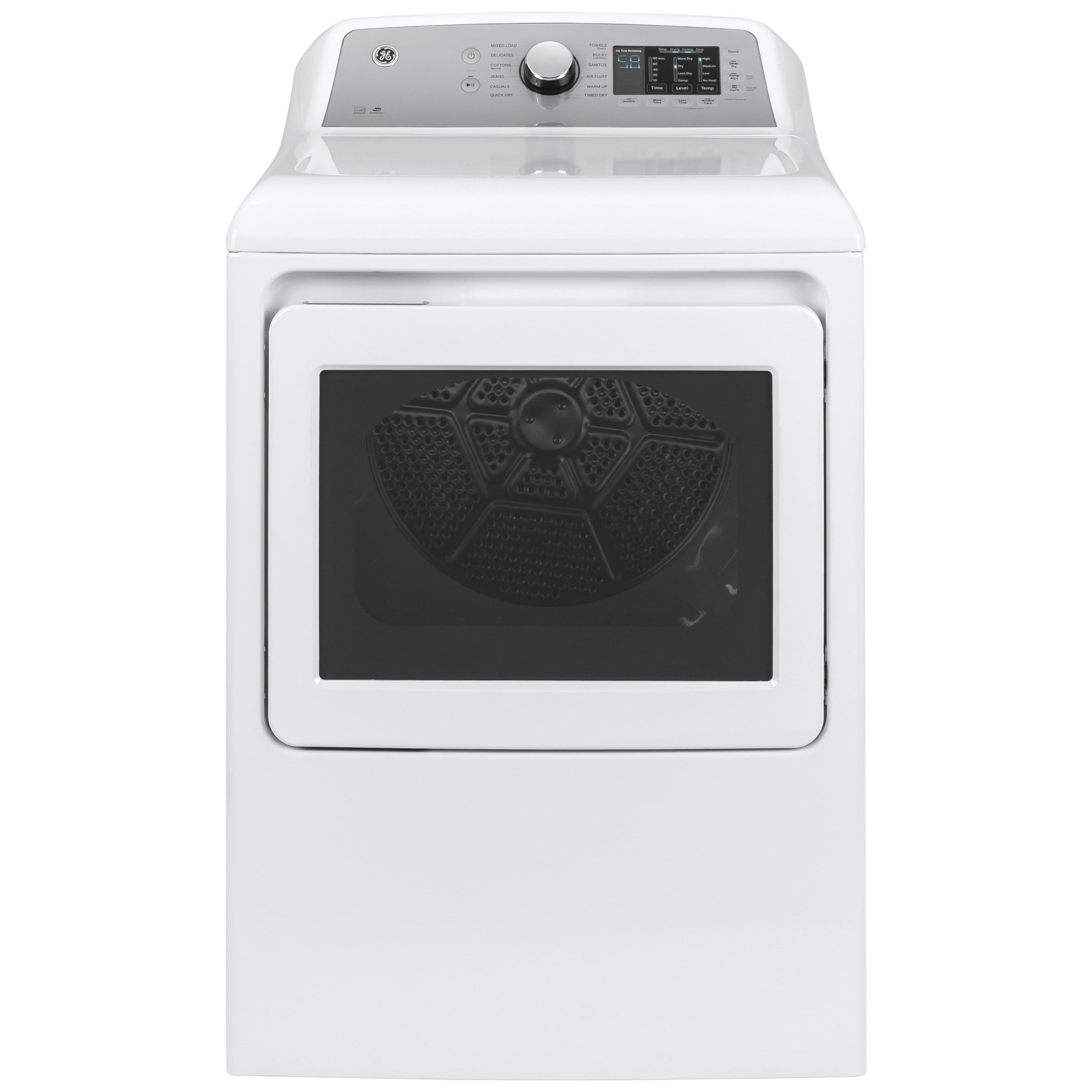 GE Electric Dryers 7.4 cu. ft. Capacity Electric Dryer by GE Appliances at Furniture and ApplianceMart