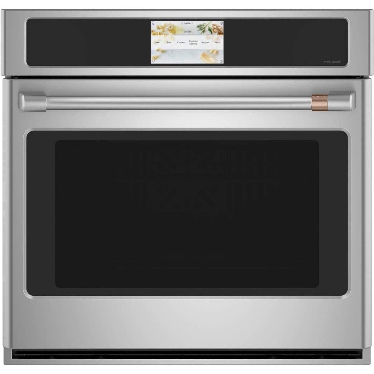 """GE Cafe Electric Wall Ovens Cafe´™ 30"""" Smart Single Wall Oven by GE Appliances at Furniture and ApplianceMart"""
