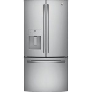 GE® Series ENERGY STAR® 23.8 Cu. Ft. French-Door Refrigerator
