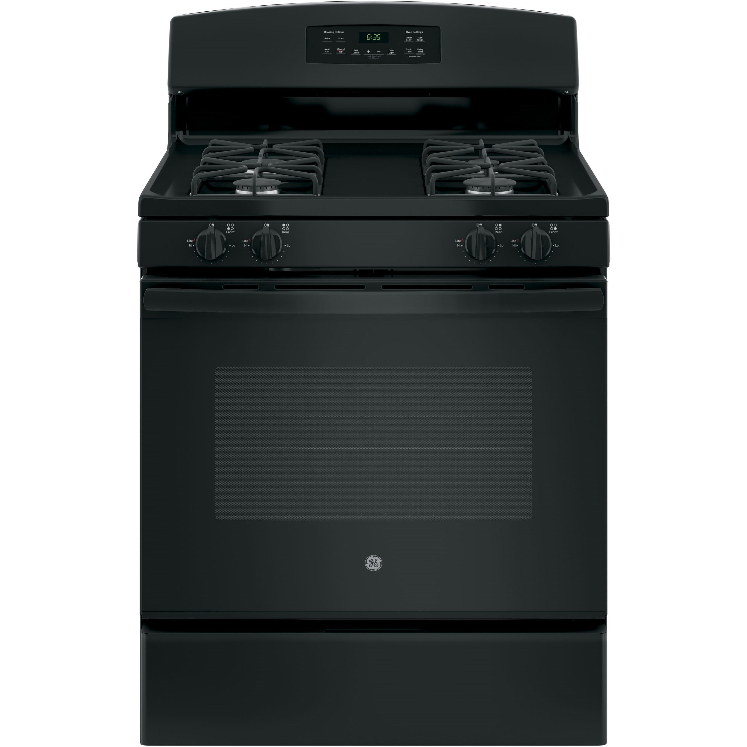"""GE Gas Ranges 30"""" Free-Standing Gas Range by GE Appliances at VanDrie Home Furnishings"""