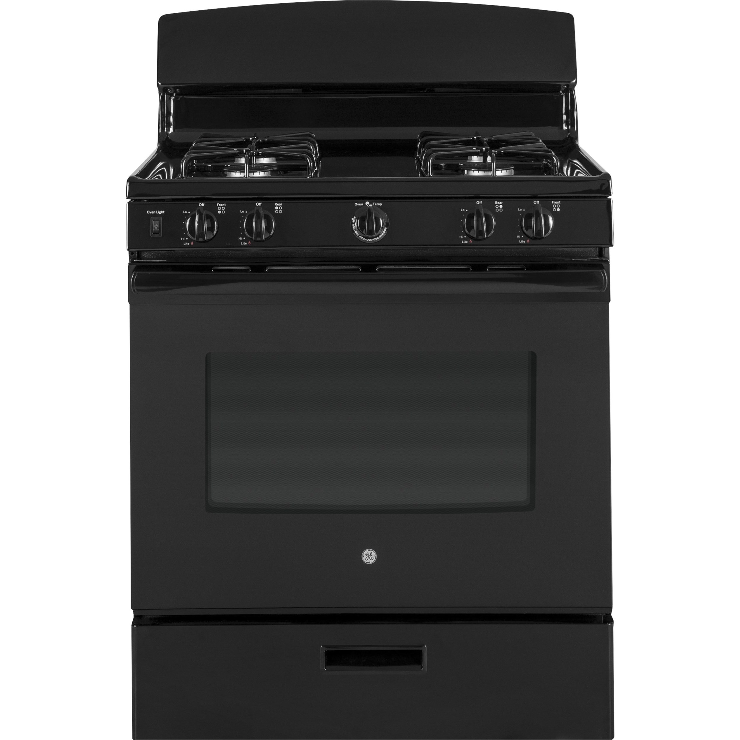 """GE Gas Ranges GE® 30"""" Free-Standing Gas Range by GE Appliances at Furniture and ApplianceMart"""