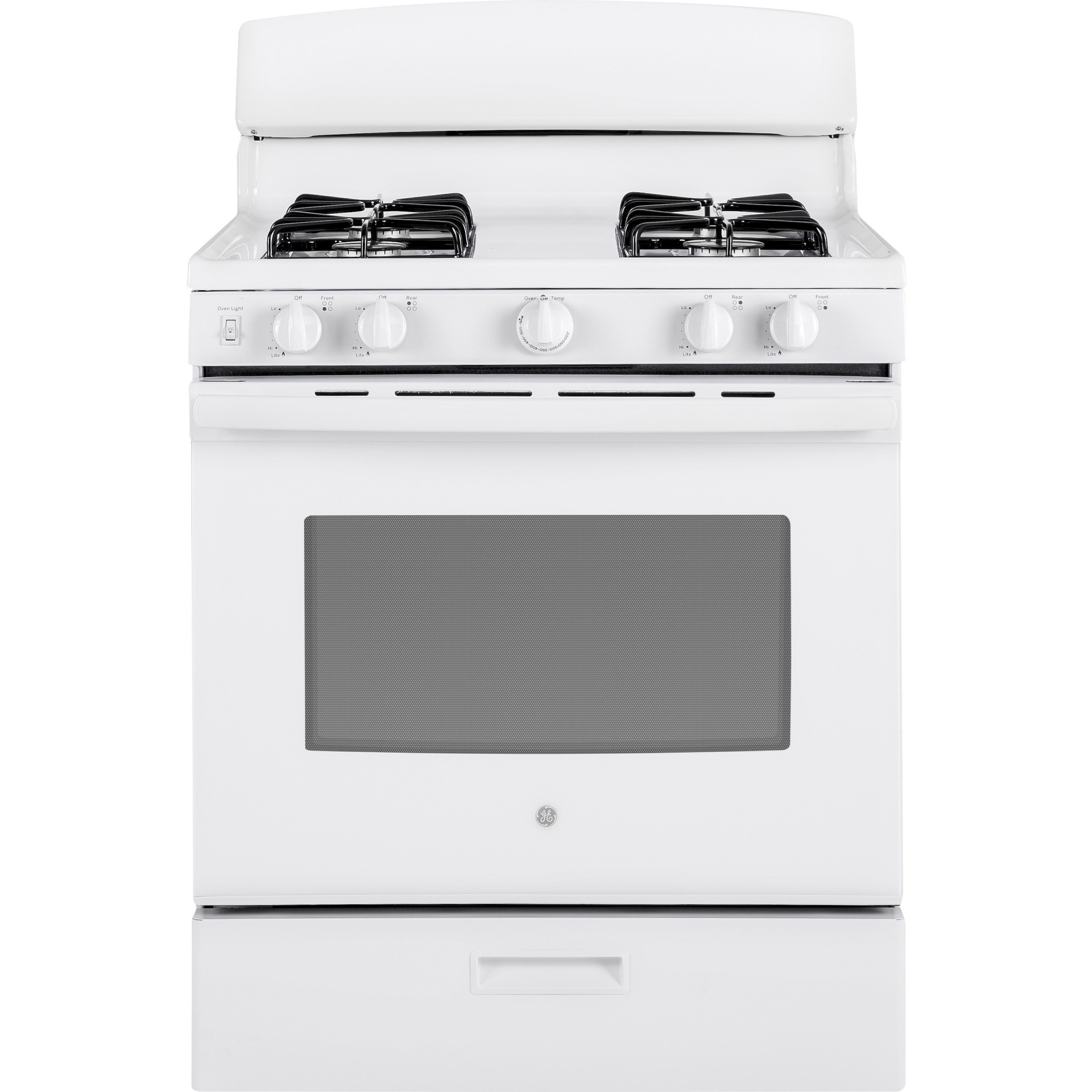 "GE Gas Ranges GE® 30"" Free-Standing Gas Range by GE Appliances at Furniture and ApplianceMart"