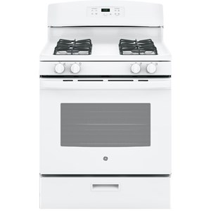 """GE® 30"""" Free-Standing Gas Range with Precise Simmer Burner"""