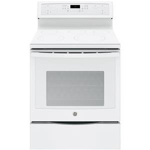 """GE Appliances GE Profile Electric Ranges Profile™ 30"""" Electric Convection Range"""