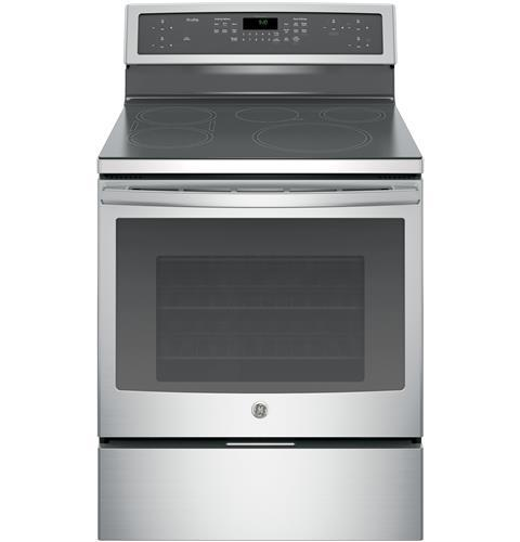 """GE Profile Electric Ranges Profile™ 30"""" Convection and Induction Range by GE Appliances at VanDrie Home Furnishings"""