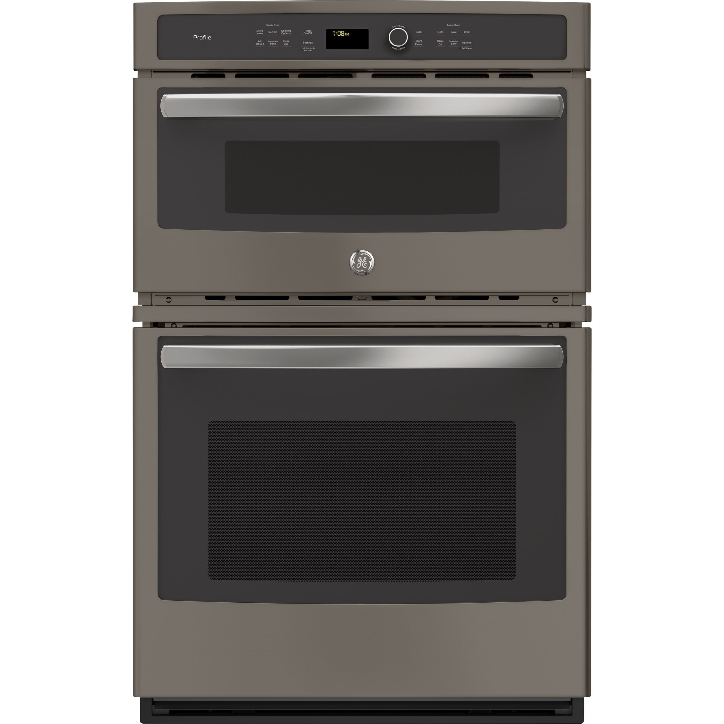 "GE Profile Electric Wall Ovens GE Profile™ Series 27"" Built-In Combination  by GE Appliances at VanDrie Home Furnishings"