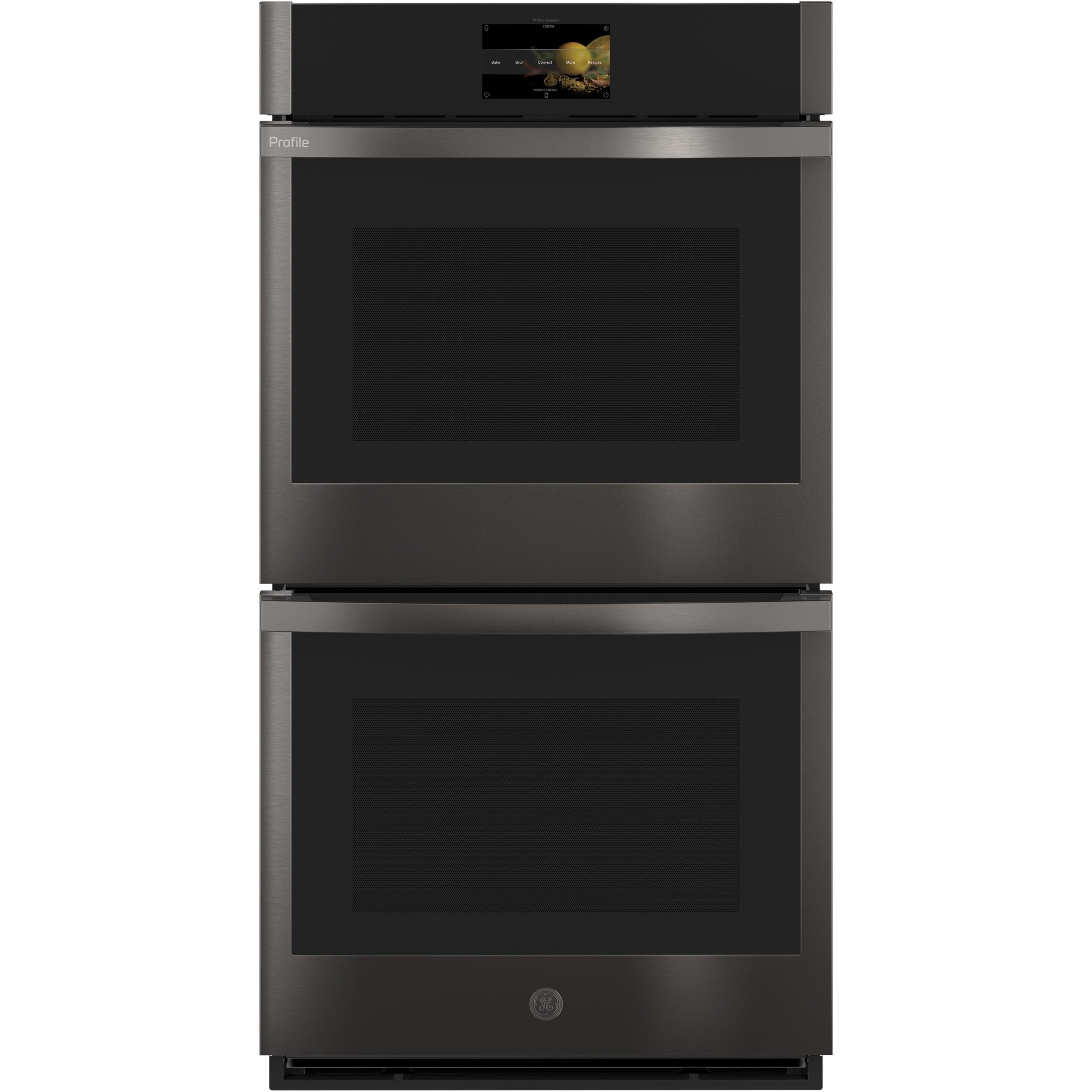 "GE Profile Electric Wall Ovens Profile™ 27"" Smart Convection Double Oven by GE Appliances at Furniture and ApplianceMart"