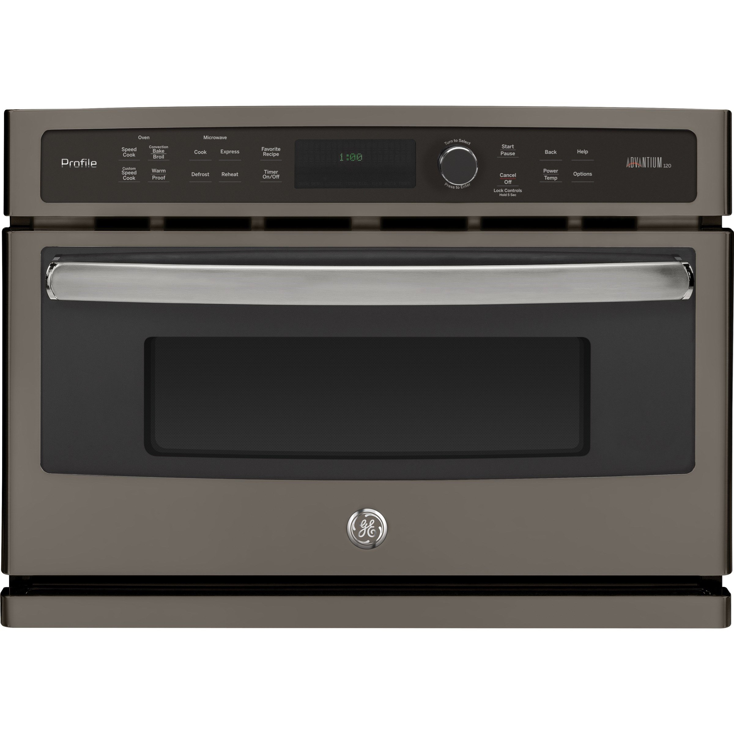 GE Profile Electric Wall Ovens Profile™ 27 in. Single Wall Microwave Oven by GE Appliances at Furniture and ApplianceMart