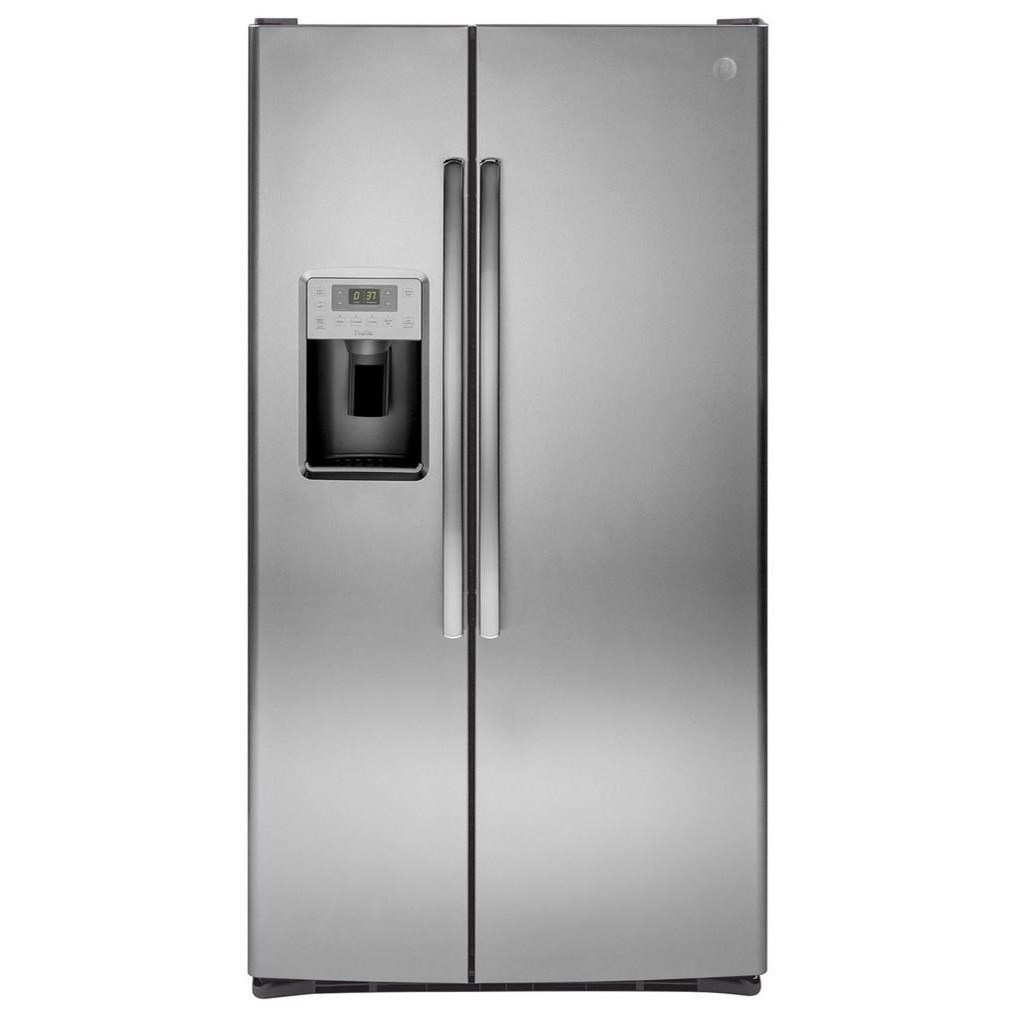 GE Profile Side-By-Side Refrigerators GE Profile™ Series 28.2 Cu. Ft. Refrigerator by GE Appliances at Furniture and ApplianceMart