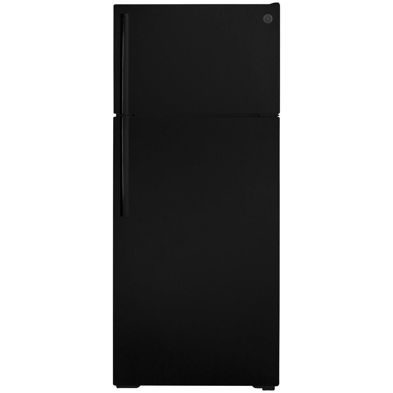 GE Top-Freezer Refrigerators GE® ENERGY STAR® 17.5 Cu. Ft. Top-Freezer Re by GE Appliances at Fisher Home Furnishings
