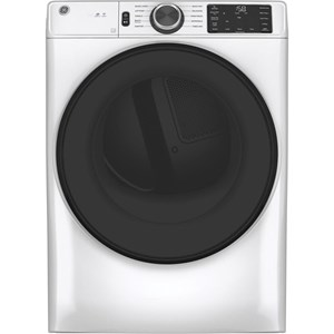 GE® 7.8 cu. ft. Capacity Smart Front Load Gas Dryer