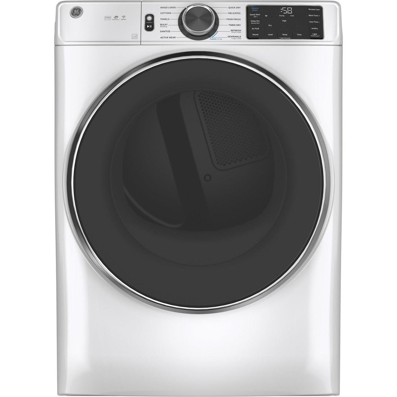 Home Laundry GE® 7.8 cu. ft. Capacity Gas Dryer by GE Appliances at Furniture and ApplianceMart