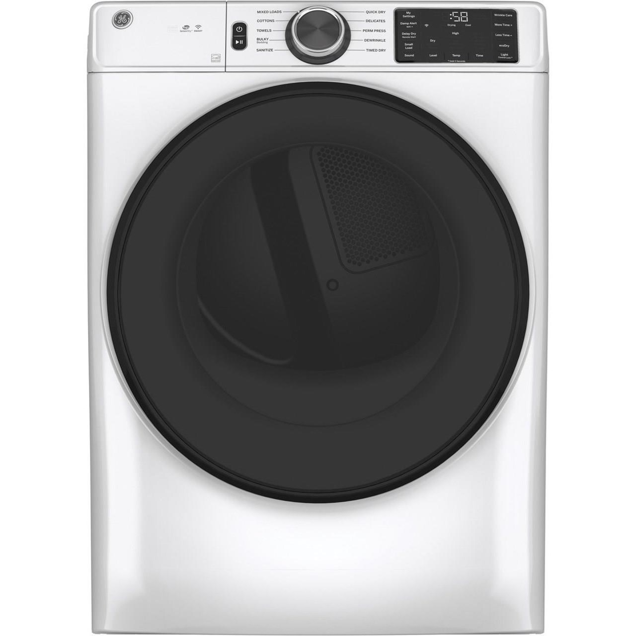 Home Laundry GE® Long Vent 7.8 cu. ft. Electric Dryer by GE Appliances at Furniture and ApplianceMart