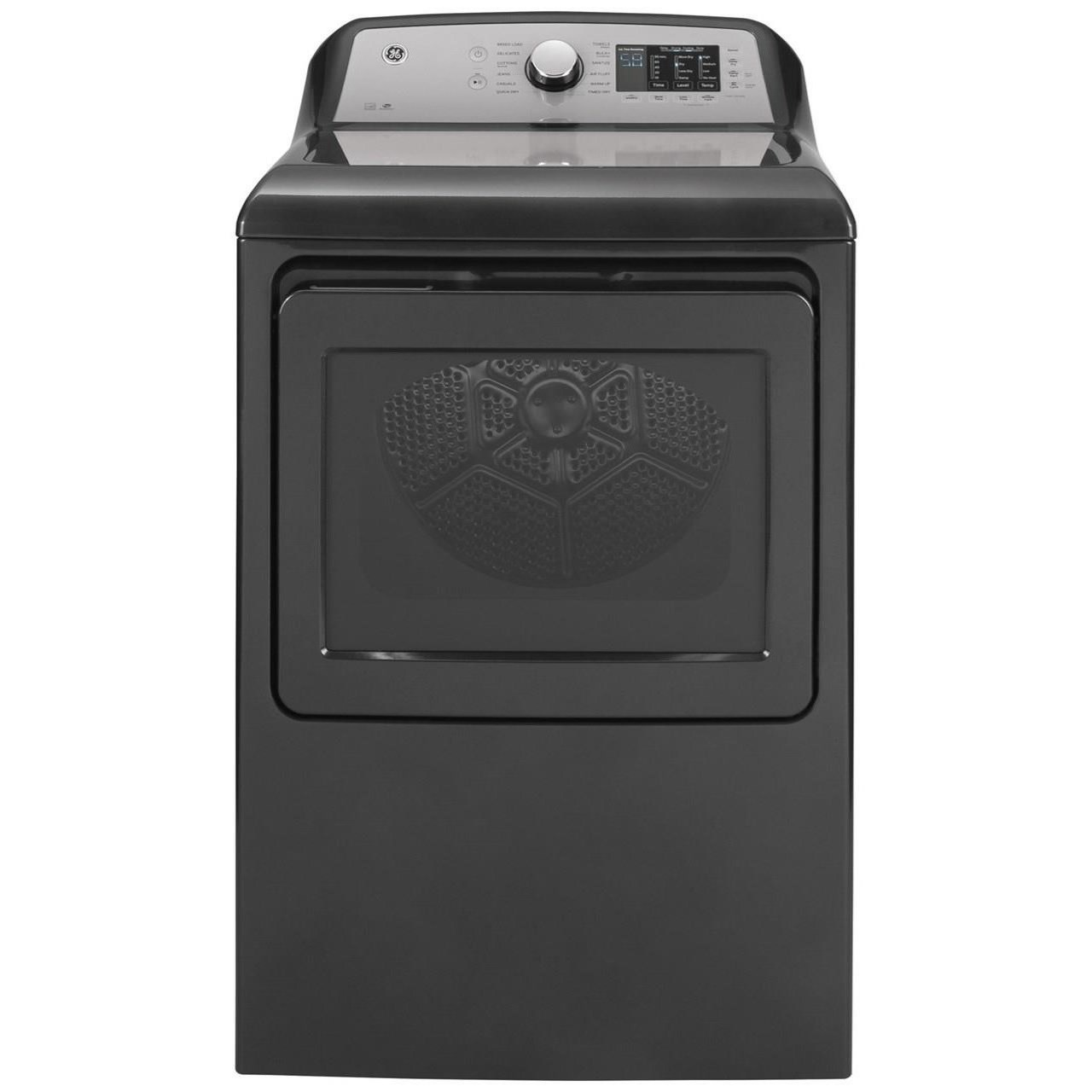 Home Laundry GE® 7.4 cu. ft. Capacity Electric Dryer by GE Appliances at Furniture and ApplianceMart