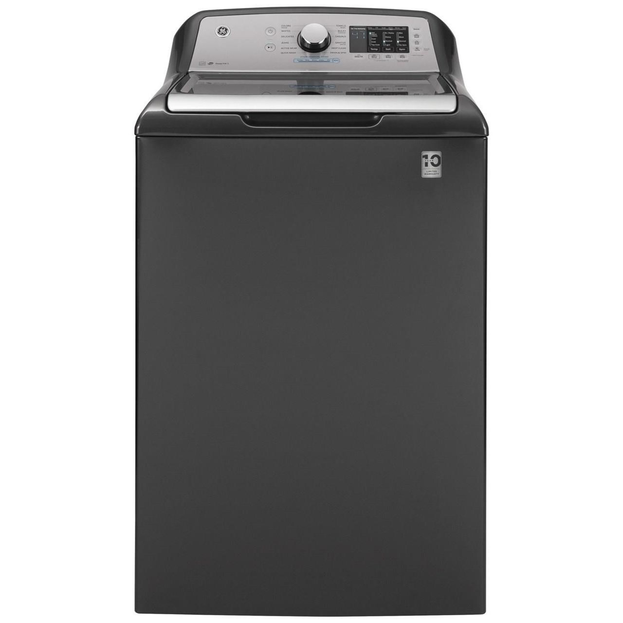 Home Laundry GE® 4.8 cu. ft. Capacity Washer by GE Appliances at Furniture and ApplianceMart