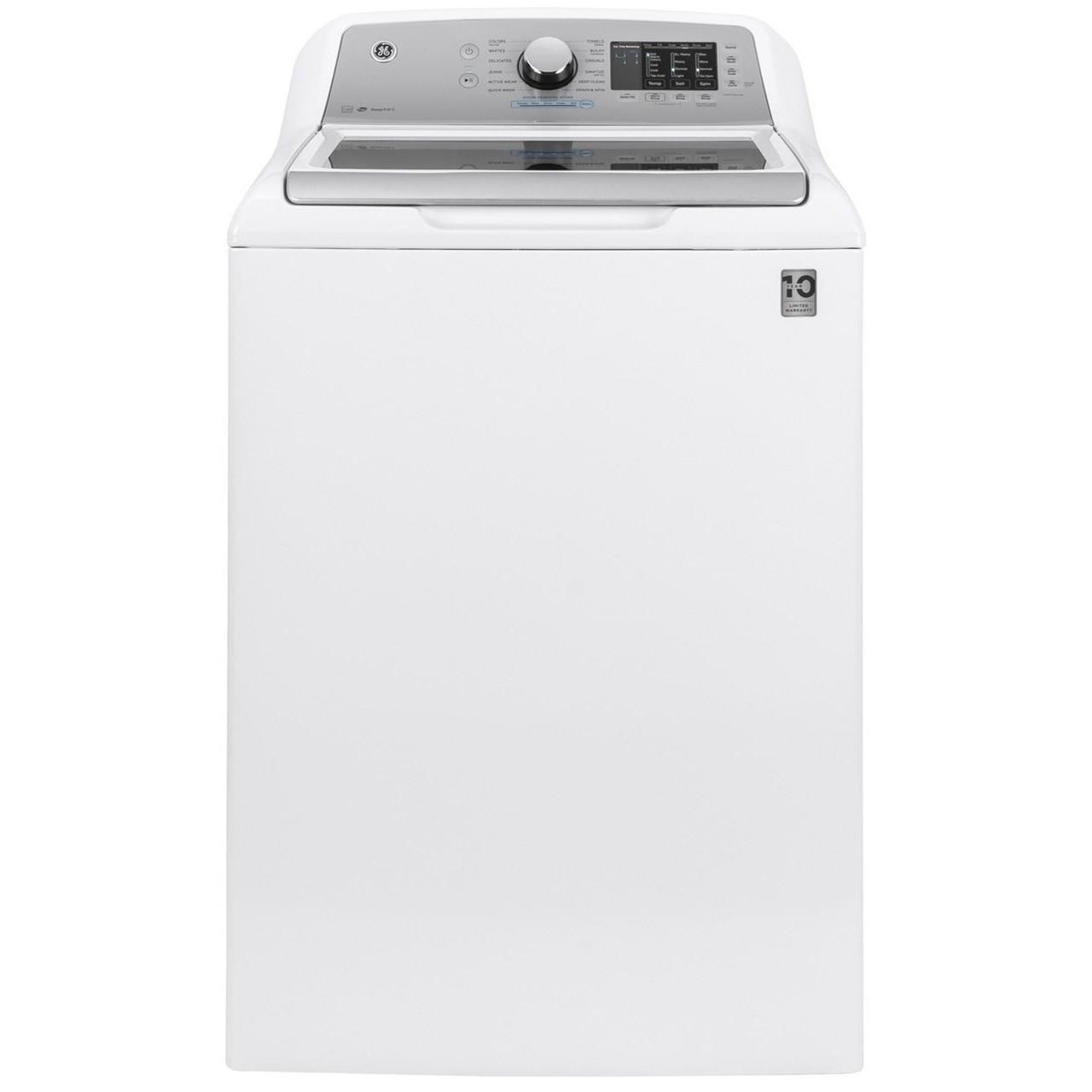 Home Laundry GE® 4.8 cu. ft. Capacity Washer by GE Appliances at VanDrie Home Furnishings